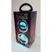 Диско колона с радио, MP3 от флашка или карта памет и Блутут  KC-55